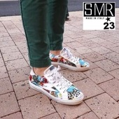 Le modèle Catri avec sa toile multicolore rendra plus gais les jours de pluie de cet été bizarre 🌞🌞🌞 #summer21 #fashion #sneakersaddict #sneakers #womenshoes @semerdjianchaussures  www.balka.fr