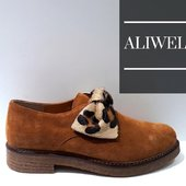 @ALIWELL joli derby EDEN en tan et léopard 😍😍😍 #shoes #shoesaddict #colors #automne #leopard