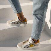 Le léopard argenté aux couleurs de l'été qui arrive 💛💛🧡🧡💛💛🧡🧡 Reqins #sneakersaddict #womenshoes #fashion
