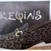 Le petit mocassin léopard tout chic chic ! 😍😍😍 modèle Aubane de Reqins #reqins #fashion #leopard #jeveuxceschaussures