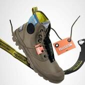 PALLADIUM ce modèle en toile, agrémenté de jolies couleurs vives vous entrainera dans toutes vos promenades 🤩🤩🤩 #boots #shoesaddict #néon #vivreautrement Palladium Boots
